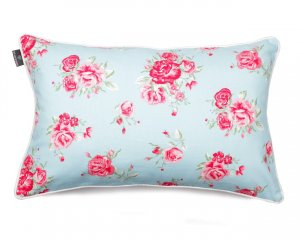 Decorative pillow  Roses Blue 40x60 cm