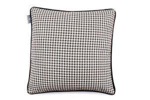 Decorative pillow Check Black 45x45 cm