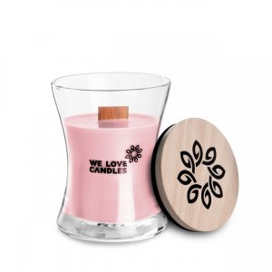 Scented Candle Basket of Tulips S