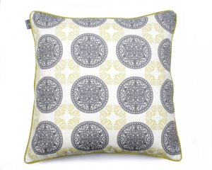 Decorative pillow  Ornaments Green 60x60 cm