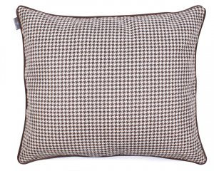 Decorative pillow  Check Dark Chocolate 40x40 cm