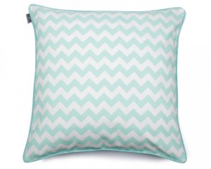 Decorative pillow  Zig Zag Mint  60x60 cm