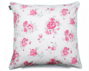 Decorative pillow  Roses Mint 60x60 cm