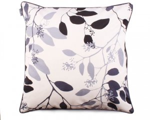 Decorative pillow Branches Gray And Black 60x60 cm