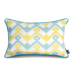 Decorative pillow  Geometry Yellow  40x60cm