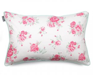 Decorative pillow  Roses Mint 40x60 cm